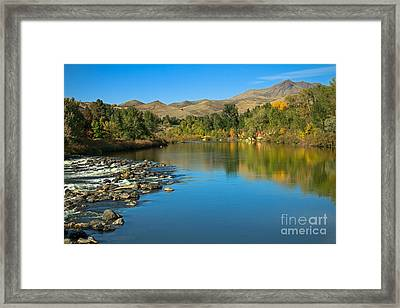 Beautiful Payette River Framed Print by Robert Bales