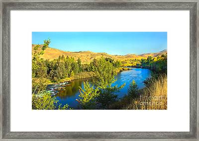 Beautiful Payette Framed Print by Robert Bales
