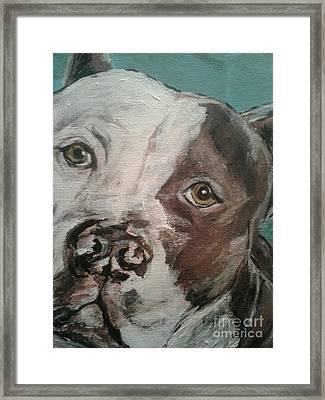 Beautiful Pit Framed Print by Tanya Arcuri-Gout