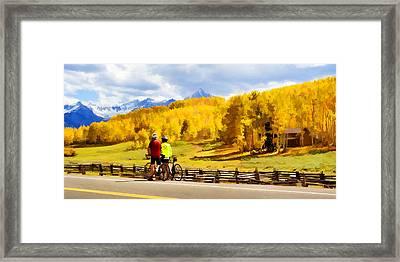 Beautiful Rest Stop Framed Print by Rick Wicker