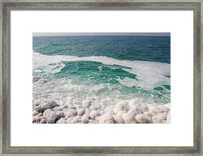 Beautiful Sea Salt Framed Print by Boon Mee