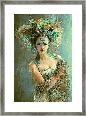 Beautiful Sea Urchin Framed Print by Maynard Ellis
