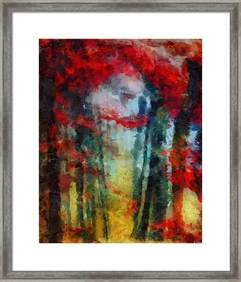 Framed Print featuring the painting Beautiful Secrets by Joe Misrasi