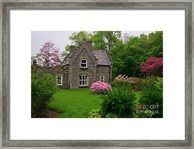 Beautiful Setting Framed Print by John Malone