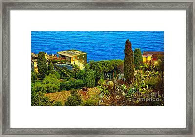 Beautiful Sicily Framed Print by Madeline Ellis