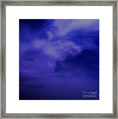 Beautiful Sky Framed Print by Saribelle Rodriguez