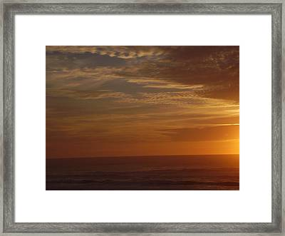 Beautiful Sky Framed Print by Yvette Pichette
