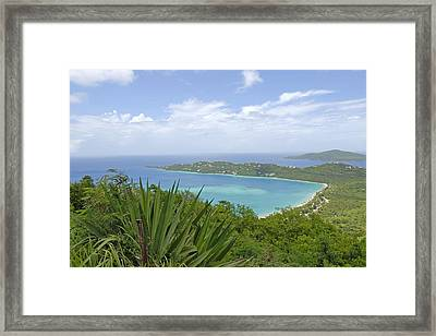 Beautiful St Thomas Framed Print by Willie Harper