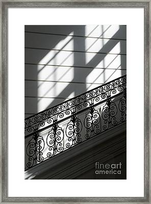 Beautiful Staircase Framed Print