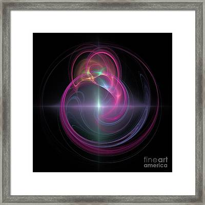 Beautiful Star Framed Print