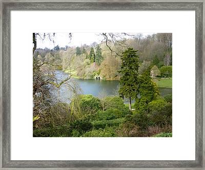 Beautiful Stourhead Framed Print by Rob Sherwood