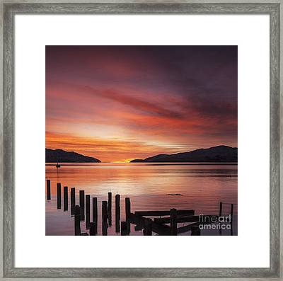 Beautiful Sunrise Framed Print