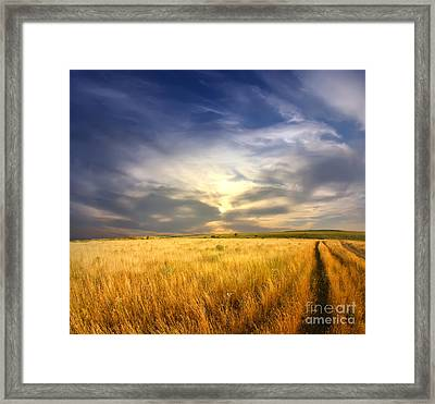 Beautiful Sunrise Pictures Framed Print by Boon Mee