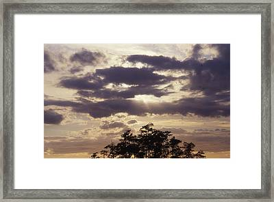 Beautiful Sunrise Framed Print by Retro Images Archive