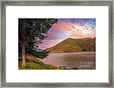 Beautiful Sunrise Framed Print by Robert Bales