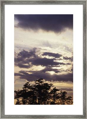 Beautiful Sunset Framed Print by Retro Images Archive
