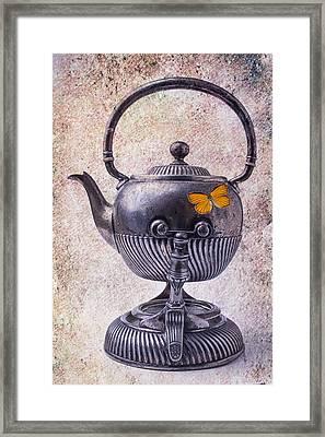 Beautiful Teapot Framed Print by Garry Gay