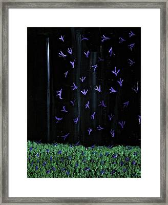 Beautiful Things That Happen At Night Framed Print