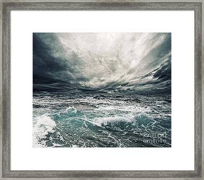 Beautiful Thunderstorm Framed Print by Boon Mee