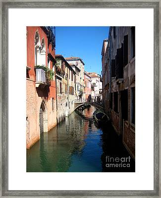 Beautiful Venice  Framed Print by Europe  Travel Gallery