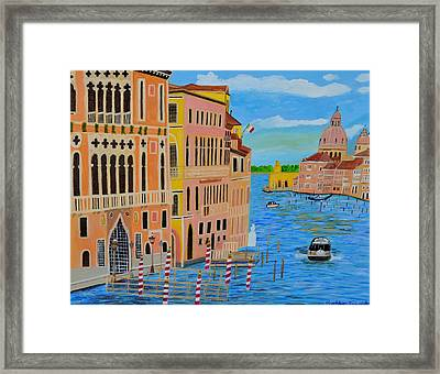 Beautiful Venice Framed Print by Magdalena Frohnsdorff