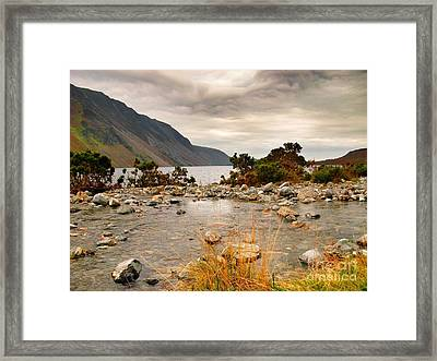 Beautiful Wastwater Framed Print