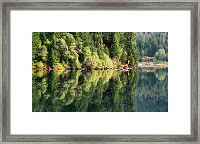 Beautiful Water Framed Print