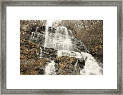 Beautiful Waterfall Framed Print by Robert Hebert