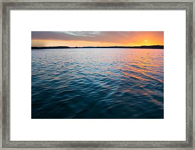 Beautiful Waters Framed Print