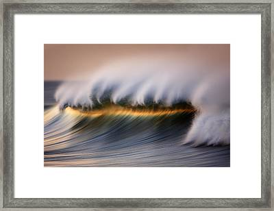 Beautiful Wave Mg_8910 Framed Print by David Orias