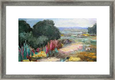Beautiful Western Landscape Framed Print