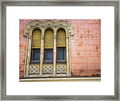 Beautiful Windows Framed Print by Newnow Photography By Vera Cepic