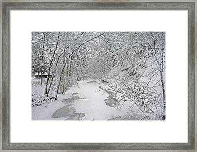 Beautiful Winter Framed Print by Kay Novy
