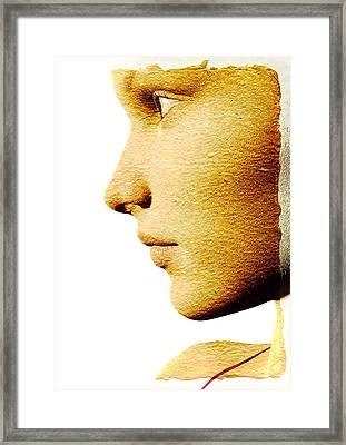 Beautiful Woman Framed Print by David Ridley