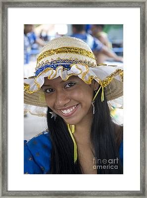 Beautiful Women Of Brazil 11 Framed Print by David Smith