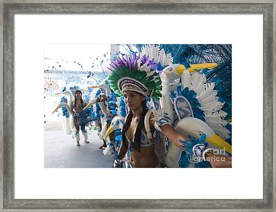 Beautiful Women Of Brazil 14 Framed Print