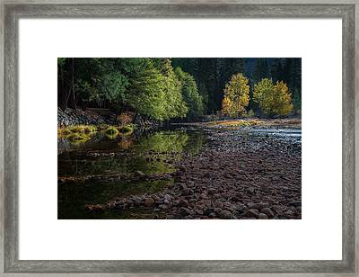 Beautiful Yosemite National Park 2 Framed Print by Larry Marshall