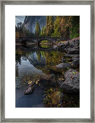 Beautiful Yosemite National Park Framed Print by Larry Marshall