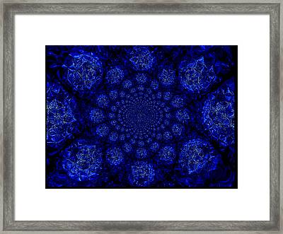Beautifully Blue Framed Print