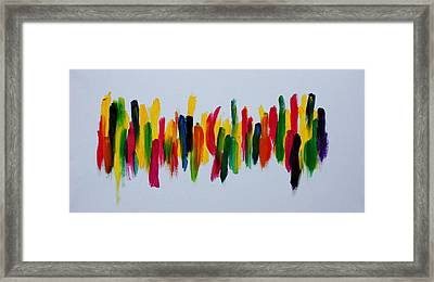 Beautifully Wrong Framed Print by Tom Atkins