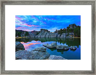 Beauty After Dark Framed Print