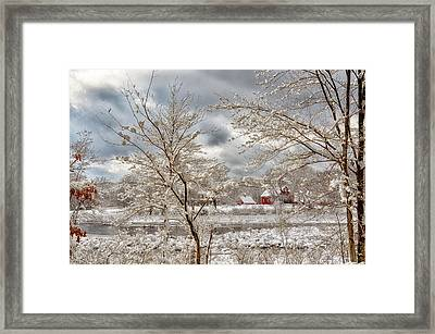 Beauty After The Storm Framed Print