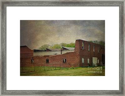 Beauty After The Tornado Framed Print by Luther Fine Art