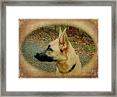 Beauty And Brains Framed Print by Mother Nature
