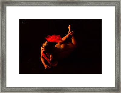 Beauty And Power  Framed Print by Emile Steyn