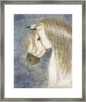 Beauty And Strength1 Framed Print by Debbie Portwood