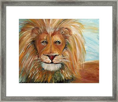 Beauty And The Beast Framed Print by Dyanne Parker