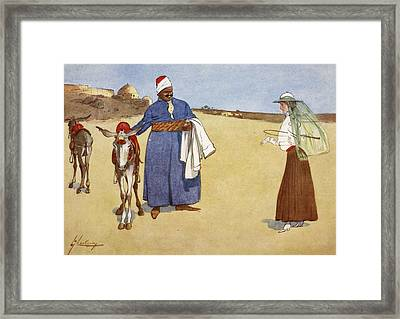 Beauty And The Beasts, From The Light Framed Print by Lance Thackeray