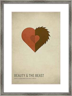 Beauty And The Best Framed Print by Christian Jackson