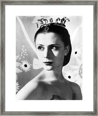 Beauty At Best Framed Print by Retro Images Archive